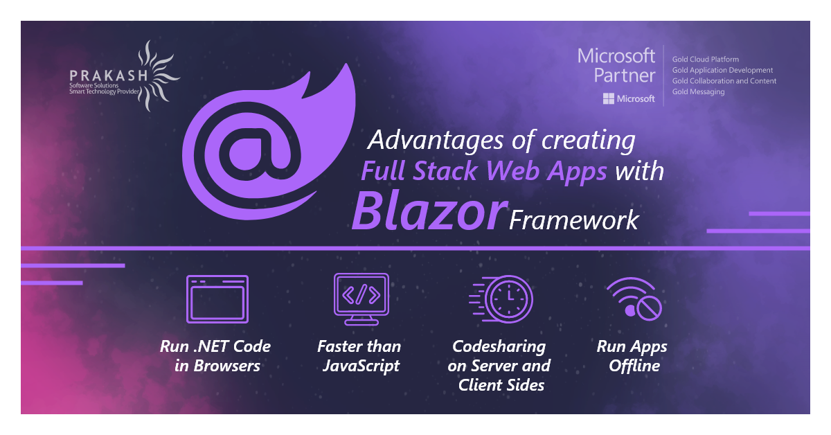 Key Benefits of Using Blazor Framework for Full-Stack Web Apps